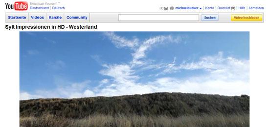 Einfacher Tipp: YouTube-Video in HD-Qualität auf der eigenen Website einbinden.