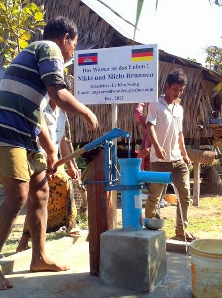 Brunnenbau Kambodscha